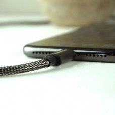 Кабель FuseChicken USB Cable to USB-C Shield 1m Black (CMC)